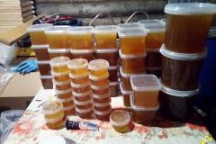 Фасуем рапсовый мёд