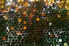 Васильковый мёд в рамке