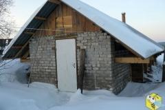 Зима, 2013 год. Зимние работы на пасеке