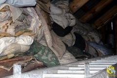 На зиму снимаем подушки с ульев