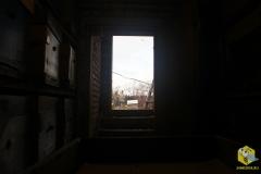 Вид из омшаника
