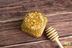 Кедровый орех с мёдом купить в Красноярске