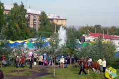 Ярмарка в Октябрьском районе, 2010 год
