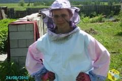 Мария Старчевская, дочь пчеловода Старчевского Евгения Николаевича