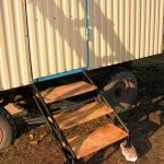 Лестница для вагона