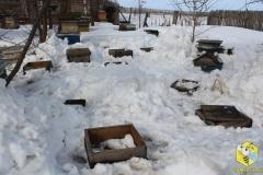 Снега было много