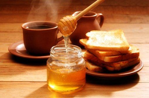 Лечим ангину мёдом