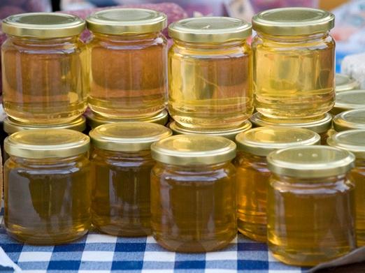Потребление меда и других сладких продуктов в США