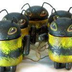 Пчелы-роботы. Арт