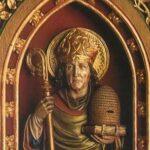 Святой с плетёным ульем