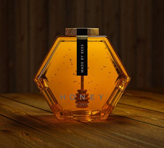 Упаковка для мёда Made by Bees