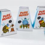 Дизайн упаковки для мёдаMi Sao Honey
