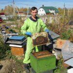 Иркутский пчеловод Евгений Клипин