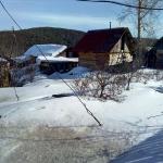 На северной стороне снега полно