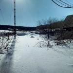 Огород в снегу