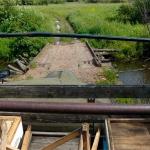 Горбатый мост через озеро Исток