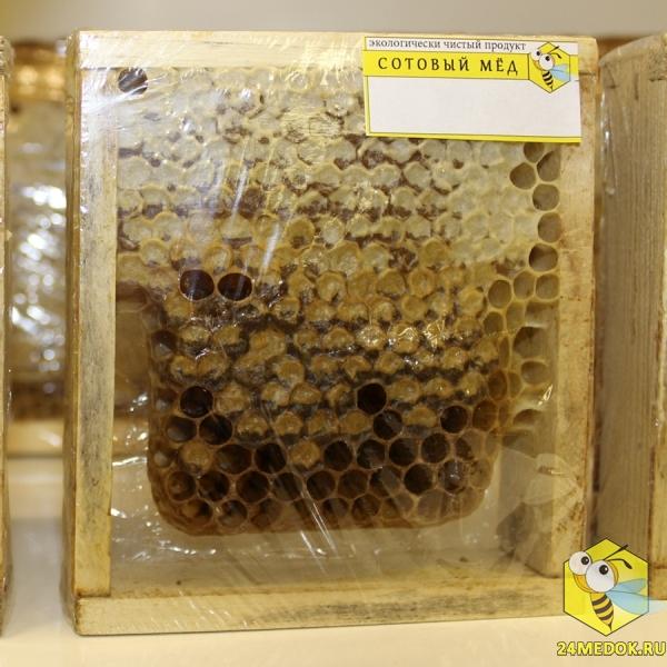 Сотовый мёд. Пасека Старчевских