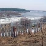 Тронулась река Чулым