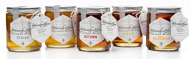 Упаковка для мёда Waxing Kara