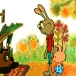 """Кадр из мультфильма """"Винни Пух идет в гости"""", 1971 год."""
