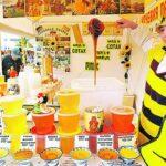 На ярмарке предлагают до 70 видов меда.