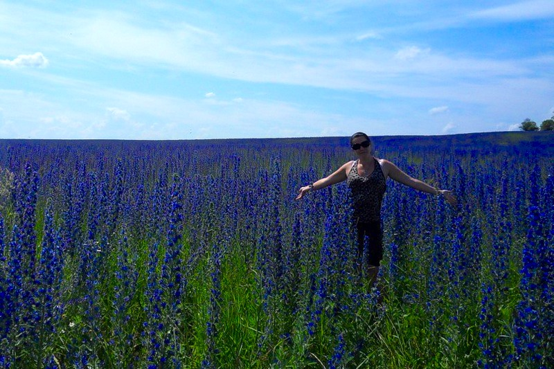 синяк фото цветок