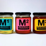 Современна упаковка для мёда от Miel²