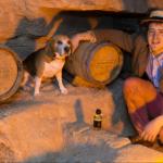 Медовар со своей собакой