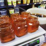 Такой ароматный этот васильково- таежный мед, ммм.  #мед #василек #васильковый #таежный #магазин #пп #медсибири #24honey #24medok