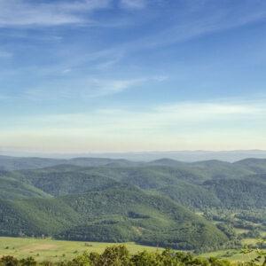 В горах Странджа на территории Болгарии