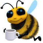 Кофеин привлекает пчел