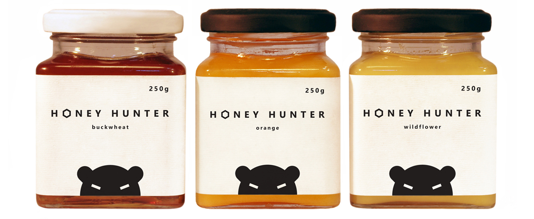 Упаковка для мёда Honey Hunter