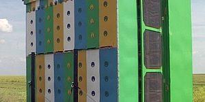 Конструкция павильона для пчел на 32 пчелосемьи (фото)