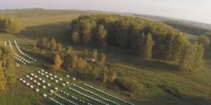 Промышленное пчеловодство в Сибири (видео)