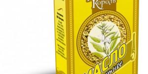 Растительные масла премиум класса «Масляный король»