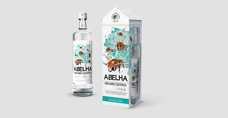 Бутылка Кашаса Abelha