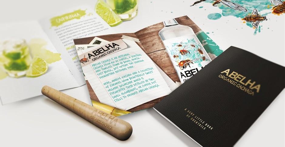 Рекламный буклет из коробочки Abelha