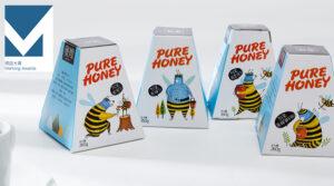 Дизайн упаковки для мёда Mi Sao Honey