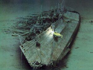 пароход «Лузитания»